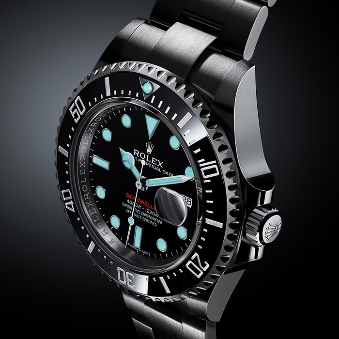 Nuovo Rolex Sea-Dweller: Dial Luminescence