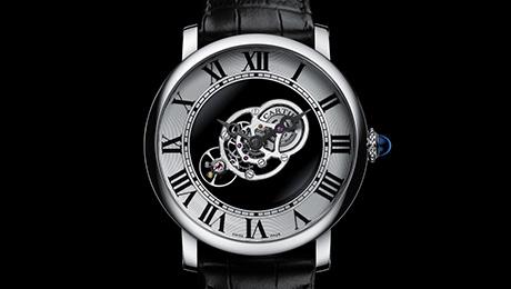 Cartier - Orologio Rotonde de Cartier Astromystérieux calibro 9462 MC