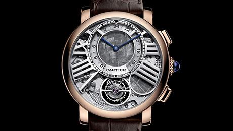 Cartier - Orologio Rotonde de Cartier Terre et Lune